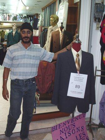 Tailor Shop Owner
