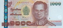 1000 Baht Bank Note