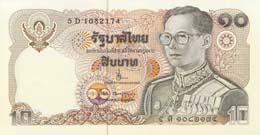 10 Baht Bank Note