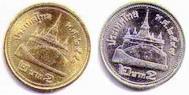 2 Baht coin